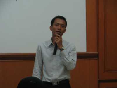 Presentasi dari Pak Junawan