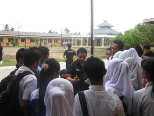 antusias siswa belajar